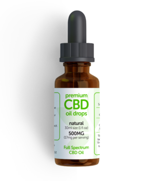 CBD oil Natural 500mg