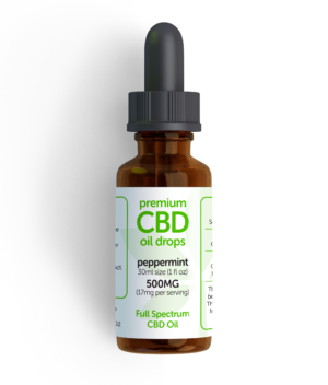 CBD oil Peppermint 500mg