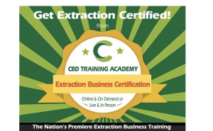 cbd extraction certified