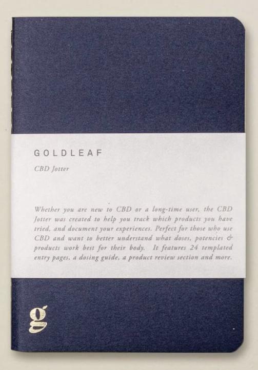 CBD Jotter Journal