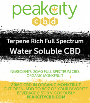 water soluble cbd packets